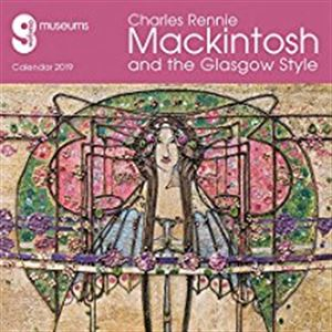 Picture of Glasgow Museums - Charles Rennie Mackintosh & the Glasgow Style Wall Calendar 2019