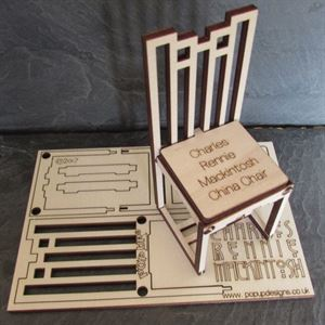 Picture of Charles Rennie Mackintosh Chinese Chair Card