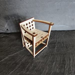 Picture of Charles Rennie Mackintosh Hill House Hall Chair Card