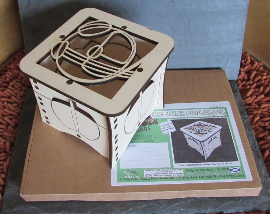 ... Picture of Charles Rennie Mackintosh Storage Box Large