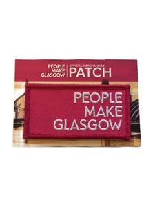 Picture of People Make Glasgow Embroidered Patch