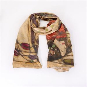 Picture of The Wassail Bespoke Silk Scarf