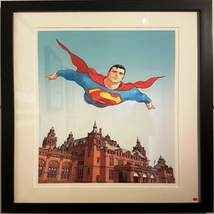 Picture of Limited Edition Frank Quitely Superman Print