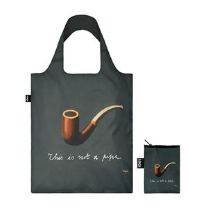 Picture of Rene Magritte The Treachery of Images LOQI Bag