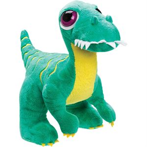 Picture of Large Velociraptor Soft Toy - Green