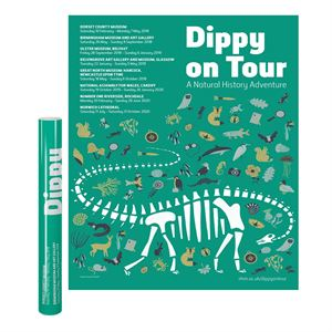 Picture of Dippy On Tour Poster