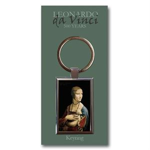 Picture of Woman Ermine Keyring