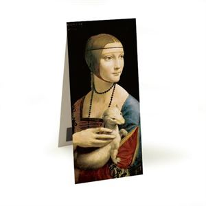 Picture of Woman Ermine Magnetic Bookmark