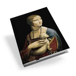 Picture of Woman Ermine A5 Hardback Journal