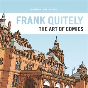 """Picture of Frank Quietly """"The Art of Comics"""" Exhibition Book"""